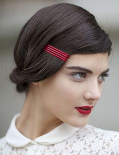 Who knew bobby pins could make your hair look like this?