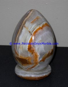 Egg Shape, Home Office Decor, Table Lamps, Natural Stones, Hand Carved, Eggs, Shapes, Lighting, Gifts