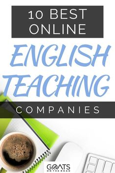 Do you want to get a high-paying job online? Here's a list to the 10 best online English teaching companies from completely authorized sites that may be looking for online English language tutors. Let us help you change your career and work online! | #makemoneyonline #workathome #traveltips Best Online Jobs, Online Work, Teaching English Online, Earn Extra Cash, Teaching Jobs, Digital Nomad, English Language, Goats, How To Make Money
