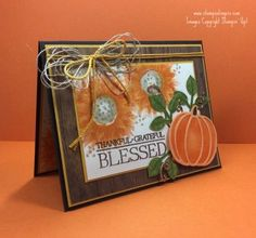 Mary Deatherage, Independent Stampin' Up! Demonstrator in Fayetteville, Georgia (Atlanta).Let's make some cards! Fall Cards, Holiday Cards, Christmas Cards, Halloween Scrapbook, Happy Fall Y'all, Some Cards, Thanksgiving Cards, Card Tags, Homemade Cards
