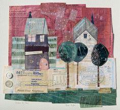puzzle your neighbour; collage; Elaine Hughes