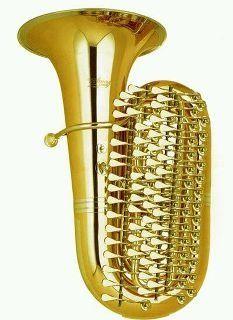 Double Subcontrabass Saxophone Elle Stainer Double Bb Sub