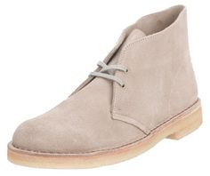 Army inspired shoe with a lot of style...Clarks Originals Men's Desert Booties Multi