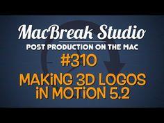 New MacBreak Studio episode - learn how to make 3D logos in Apple Motion! http://www.motionvfx.com/B4072  #macbreak #mac #fcpx #motion #tutorial