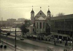 Немига, 1970-е. Мінск, Беларусь, старыя фотаздымкі, старые фотографии Минска