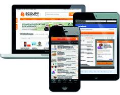 SCOUPY is overal bereikbaar: op je pc/laptop via www.scoupy.nl en via de app op je smartphone of tablet.
