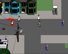 Игра Миссия спасения в заражённом Лего Сити