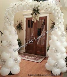 Wedding Balloon Arch Ballon Decorations, Birthday Party Decorations, Wedding Decorations, Balloon Gate, Wedding Ballons, Gate Decoration, Arbour, Star Party, Photo Booth Backdrop