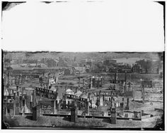 General View of the Burned District - Richmond, VA, April 1865