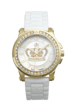 Juicy Couture 'Pedigree' Jelly Strap Watch   Nordstrom