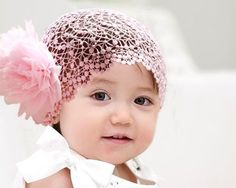Cheap hair band, Buy Quality headband hair directly from China girls headbands Suppliers: SUNWARD delicate 2017 girls headband hair accessories Girl Lace Flower Headband Elastic Hairband Hair Band Hairband, Lace Headbands, Baby Girl Headbands, Baby Bows, Feather Headband, Flower Hair Bows, Flowers In Hair, Big Flowers, Flower Wrap