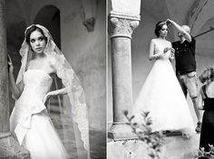 What's behind a wedding dress: tailoring, but also make up, hairstyle, photography and art... SUSAN of Alessandra Rinaudo Bridal Collection