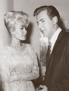 "absolute-most: ""Sandra Dee and Bobby Darin backstage at the Moulin Rouge (c. From the Pam Decatur collection. Hollywood Or Bust, Hollywood Couples, Hollywood Icons, Vintage Hollywood, Celebrity Couples, Hollywood Stars, Classic Hollywood, Classic Movie Stars, Classic Movies"