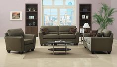 iSimone in Sage - $497.00 Couch Only (3 piece set - $1267.00)