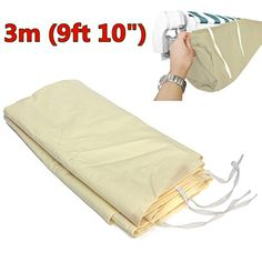 3m Patio Courtyard Awning Sun Canopy Winter Storage Bag Rain Cover Protector New TM79F32M UGBA676159 *** Check out this great product.