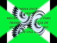(21) ENGRANAJES Y TIPOS DE ENGRANAJES - YouTube Youtube, Control System, Gears, Youtubers, Youtube Movies