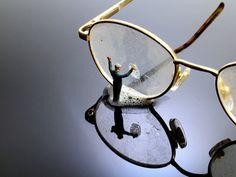 Installation & Sculpture | Little People Project, Slinkachu - window washers :)
