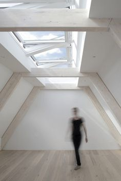 Image result for attic conversion exhibition  architecture