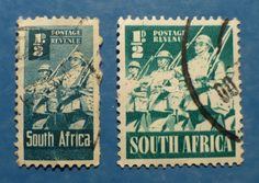 1/2 D South Africa x2 - Soldiers Marching