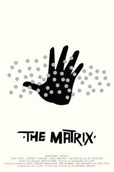 Minimalist Movie Poster Art: The Matrix Best Movie Posters, Minimal Movie Posters, Minimal Poster, Cinema Posters, Movie Poster Art, Poster On, Film Posters, Cinema Tv, The Matrix Movie