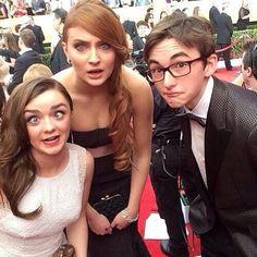 Stark kids are adorbs....