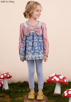 Once upon a time...Fall 2016: Enchanting Tee, Fairy Wand Tunic and Be Brave Leggings