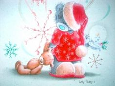 Image result for red-nosed teddy bear