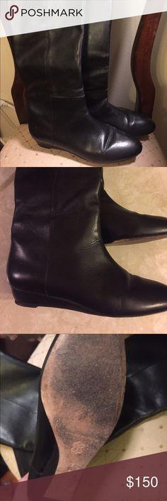 Loeffler Randall Matilda Boots Gorgeous black leather Loeffler Randall  Matilda boots. Worn 3 times. Loeffler Randall Shoes Heeled Boots