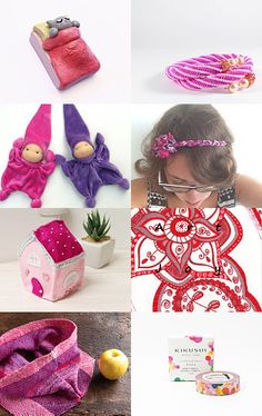 Pink Friday Collection by Nadia Mangione @bynadialab on @Etsy #handmade #giftideas #pink #accessories #itsmartteam. Click and comment http://www.etsy.com/treasury/MzM5MjU2NTB8MjcyNzAwMTEzOA/pink-friday --Pinned with TreasuryPin.com