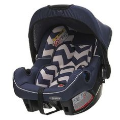OBaby Zeal Group 0 Infant Car Seat-Zigzag Navy This 0 Infant Car Seat from Obaby is stylish, fun and the perfect option for keeping your little one comfortable and safe while on the move. Striking an impeccable balance between high quality featu http://www.MightGet.com/march-2017-1/obaby-zeal-group-0 -infant-car-seat-zigzag-navy.asp