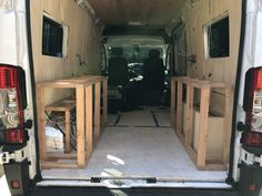 If you're converting youre van to a campervan, heres a detailed step by step guide on how to build a van conversion bed frame for your camper. Van Conversion Bed Frame, Van Conversion Interior, Camper Van Conversion Diy, Van Insulation, Diy Van Conversions, Rent A Campervan, Van Bed, Camper Beds, Have A Shower
