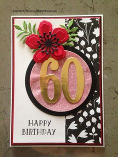 papercraftisann: 60th Birthday Card
