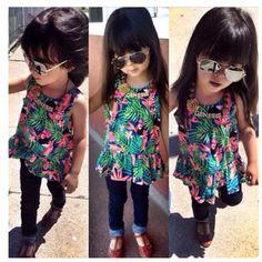Miss tiny fashion diva ready to go...