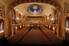 Missouri Theatre - where we hold May Commencement