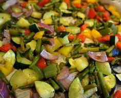 Savory Summer Vegetables Recipe Image