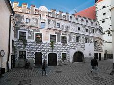 Město Prachatice - Heydlův dům (čp. 29), foto: Archiv Vydavatelství MCU