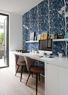 Home Office, Office Desk, Workspace Design, Corner Desk, Interior Design, Room, Furniture, Teen Kids, Home Decor