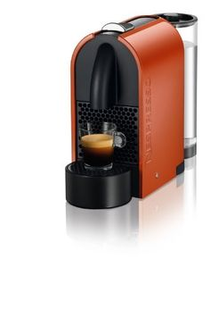 Nespresso D50-US-OR-NE Espresso Maker, Pure Orange by Nespresso. $179.00. 19 Bar pump pressure. Automatic power off after 9 minutes of inactivity.. Automatic memorization of one of three cup sizes: Ristretto, Espresso and Lungo. Removable magnetic cup/drip tray for larger milk recipes.. 27oz Water tank rotates 180-Degree to adapt its shape to your preference. Fast pre-heat time: 25 seconds. For use with Nespresso coffee capsules only. Fully automatic piercing, brewi...