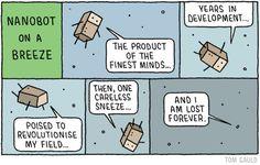 A recent cartoon for new Scientist magazine.