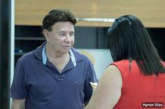 JORNAL O RESUMO: Prefeito Alair Corrêa recebe representantes de Pai...