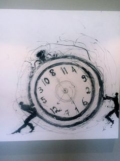 Abe Opperman is a South African artist based in Johannesburg and Cape Town South African Artists, Illustration Art, Illustrations, Street Art, Cool Designs, Clock, My Love, Gallery, Drawings