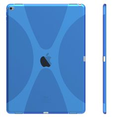X line tpu soft Gel skin back cover case protect your iPad PRO-Blue – Anbond