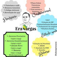 """27 curtidas, 4 comentários - To bem pro Enem (@tobemproenem) no Instagram: """"Era Vargas por @obaanick . Getúlio Vargas, entrou na história brasileira como participante da…"""""""