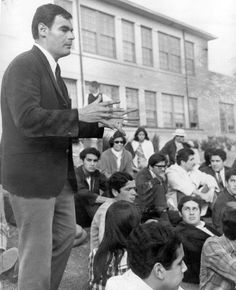 educator, activist.  Sal Castro was a high school teacher that recognized the lack of opportunities for Mexican-American students in schools. Rather than take a stance, he empowered the young people he met and supported them in their movement.