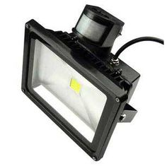 LED flood light with motion sensor. Highly certified unit featuring UL rated Meanwell driver and operating at 30 watts and 2700 lumens @uSaveLED #uSaveLED #ledlights #ledlightbulbs #ledlighting #led #motionsensor #floodlights