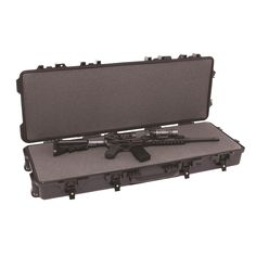 Jafin Boyt H3 Full Size Tactical Rifle Hard Sided Travel Case, Silver
