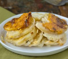 Recipe: Scalloped Potatoes with Onions and Cheddar Cheese Recipes from The Kitchn | The Kitchn