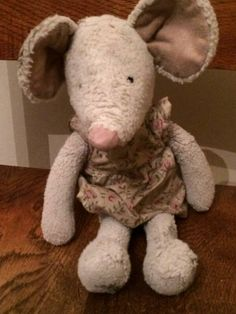 FOUND in STRAWBERRY HILL, RICHMOND, LONDON  This lovely cuddly toy mouse was Found in Strawberry Hill on the corner of Tower Road and Waldegrave Gardens in the road. She is a white mouse wearing a pink floral dress. Contact: Amy on twitter https://twitter.com/Aelderfield or https://www.facebook.com/TeddyBearLostAndFound