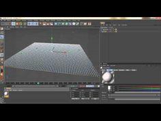 CINEMA 4D - RAINDROP EFFECT - TUTORIAL - YouTube