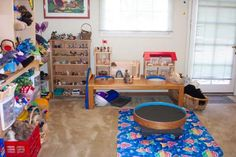 The StoryPlay Center.  Love this space!